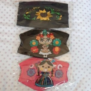 3 Mask  Mexican